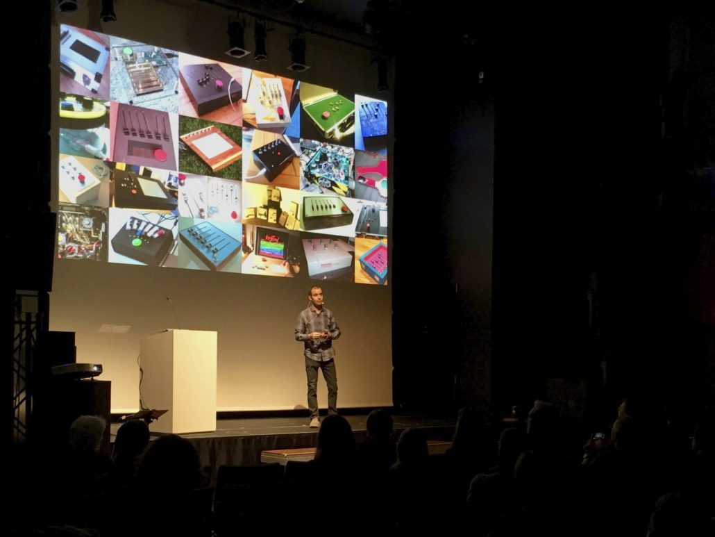 Presentation of the new Tagtool at Central Linz, September 7th 2017
