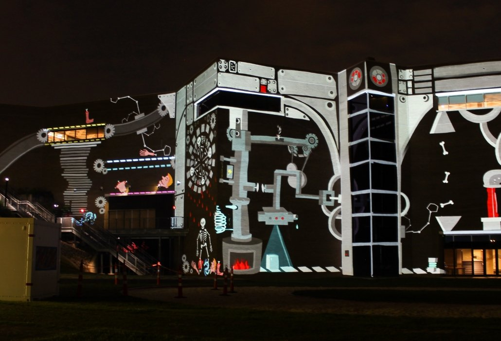 """Tagtool Session by Maki & iink at NCMA in Raleigh - """"The Incredible Machine"""""""